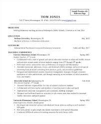 Elementary Teacher Resume Wonderful 6920 Objective Teacher Resume Example For Teachers Free Sample Assistant