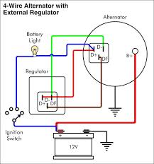 voltage regulator wire diagram wiring library typical wiring diagram alternator and external voltage regulator at beauteous in alternator external voltage regulator wiring
