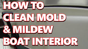how to boat marine easy clean mold mildew from vinyl boat seats interior you
