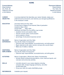 American Format Resume Trend Us Resume Format Free Resume Template