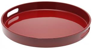 Wooden Trays To Decorate Furniture Exciting Image Of Solid Red Cherry Wood Round Ottoman 39