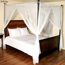 Simple Four Poster Bed With Canopy And Eterior Ideas .