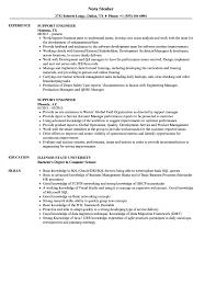 Support Engineer Resume Samples Velvet Jobs