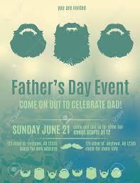 invitation flyer beautiful fathers day invitation flyer