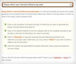 essay writer s harvard referencing generator essaywriter blog