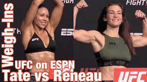 UFC on ESPN 26 WEIGH-INS: Miesha Tate ...