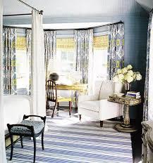 blue yellow gray bedroom