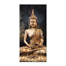 buddha modern canvas pictures wall art decor painting posters unframed intl