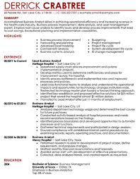 Example Of A Business Resume Simple How To Make A CreativeLooking Resume FlexJobs