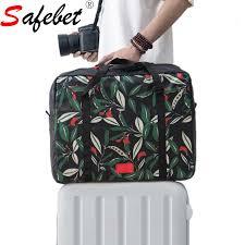 Handbagage en handtas