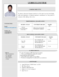 Vivek Structural Design Engineer Resume