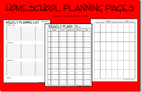 Daily Homeschool Schedule Template Ultimate Free Homeschool Planning List Free Homeschool Planners