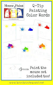 Luxury Mouse Colors Book And Mouse Book The Colors 15 Coloring Pages