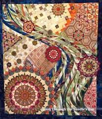 Blue Moon by Lauren Strach. 2015 Houston International Quilt ... & Telling Stories Through the Needle's Eye: International Quilt Festival,  Houston—Part Two Adamdwight.com