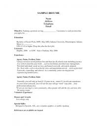 cover letter Career Information First Resume Template No Experiencefirst  resume example Large size ...