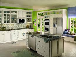 gallery of spectacular green kitchen paint colors