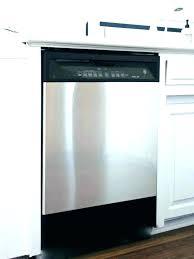 secure dishwasher under granite countertop attach dishwasher