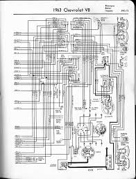 chevy wiring diagrams 1963 v8 biscayne belair impala left