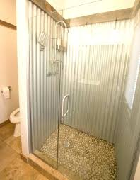 galvanized shower stall tin watering can shower head with corrugated steel shower surround and watering can galvanized shower