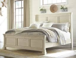 Ashley Furniture Bolanburg Louvered Bedroom Set in White by Ashley ...