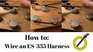 how to wire an es 335 wiring an es 335 harness youtube es 335 wiring harness uk how to wire an es 335 wiring an es 335 harness