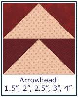 Free Quilt Block Patterns Library & ... Arrowhead quilt block tutorial ... Adamdwight.com