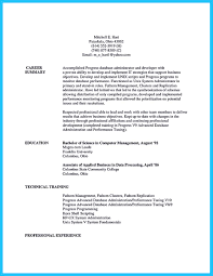 Database Developer Sample Resume How Professional Database Developer Resume Must Be Written 19