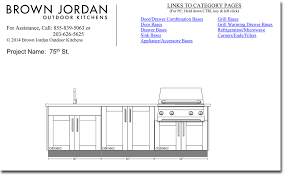 Brown Jordan Outdoor Kitchens Design Your Own Outdoor Kitchen With Our Guide