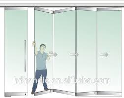 door designs frameless glass folding door sliding folding