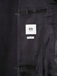Kin by John Lewis Fields Melange Check Suit Jacket, Navy at John Lewis &  Partners