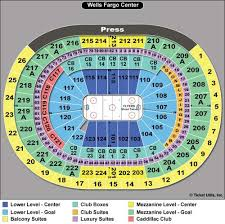 Wachovia Center Philadelphia Seating Chart Actual Wells Fargo Center Flyers Seating Chart Wells Fargo