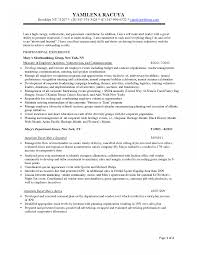 Retail Buyer Job Description Sample Example For Resume Template