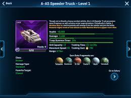 New Unit Rebel A A5 Speeder Truck And Empire Itt