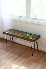Planter coffee table Mid Century Succulent Garden Table Small Side Or Coffee Table With Planter Steel Hairpin Legs Modern Eco Architonic Succulent Garden Table Small Side Or Coffee Table With Planter