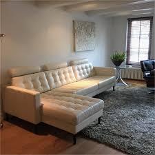 ikea white leather sofa free ikea leather sofa