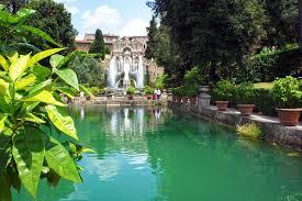 villa d este gardens at tivoli