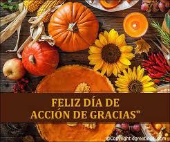 Feliz Dia De Accion de gracias. Thanksgiving Cards