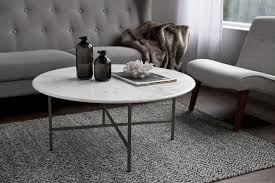 circular white contemporary marble coffee tables light gray modern polyester kingston sofa black glass bottle liver chestnut cotton blanket magnolia curtain