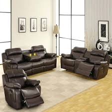 big lots leather sectional living room sets with recliner faux reclining sofa black