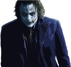 joker dark knight png transpa png