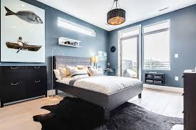 blue bedroom decor. Plain Blue View In Gallery Wooden Bedroom Decor  To Blue Bedroom Decor U