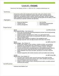 Job Resume Examples Gentileforda Com