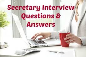 Assistant Principal Interview Questions And Answers Secretary Interview Questions And Answers
