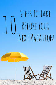 Summer Vacation Checklist % | Embracing Homemaking