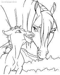 Small Picture Spirit Horse Coloring Book Coloring Pages