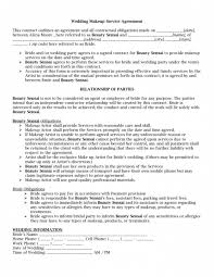 makeup artist contract template free wedding makeup artist contract free bridal makeup contract template