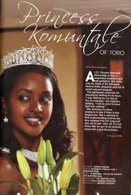 Princess Komuntale of Toro (Sister to King Oyo)