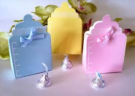 Sailboat Favor Box  Nautical Baby Shower Favors By Kate AspenBoxes For Baby Shower Favors