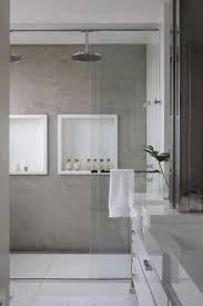 23 Amazing Concrete Bathroom Designs | Shower storage, Concrete ...