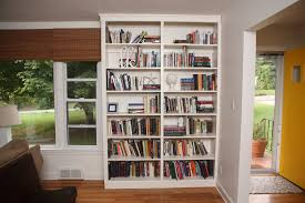 full size of bookshelf build a bookcase in a wall with diy bookshelf wall unit